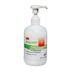 3M Avagard D Instant Hand Antiseptic with Moisturizers (61% w/w ethyl alcohol) 9222