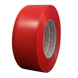 Polyken 824 Red 48mm x 55m Pinked Polyethylene Film Stucco Tape 824 Red, 48mm x 55m Pinked, 24 Per