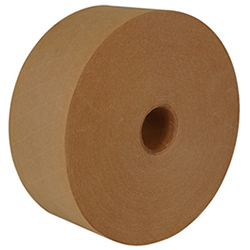 Central 260 3X450 FC NAT Heavy Duty Grade Reinforced Kraft Gum Tape 260 Natural, FLOODCOAT, 3 x 45