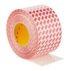 3M Double Coated Tape, GPT-020F, 100 mm x 50 m, 5 Rolls/Case
