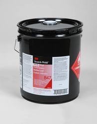 3M Scotch-Weld Nitrile High Performance Rubber And Gasket Adhesive 847 Brown, 5 Gallon Pail, 1 per