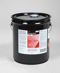 3M Scotch-Weld Nitrile High Performance Rubber And Gasket Adhesive 847H Brown, 5 gal pail, 1 per c